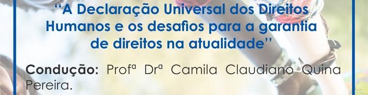 No dia 10/12, às 19h, no Campus Poços, tem encontro sobre direitos humanos na atualidade! Participe!