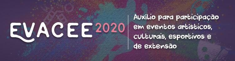 Divulgado novo edital do EVACEE. As solicitações podem ser realizadas até dia 20/11/2020.