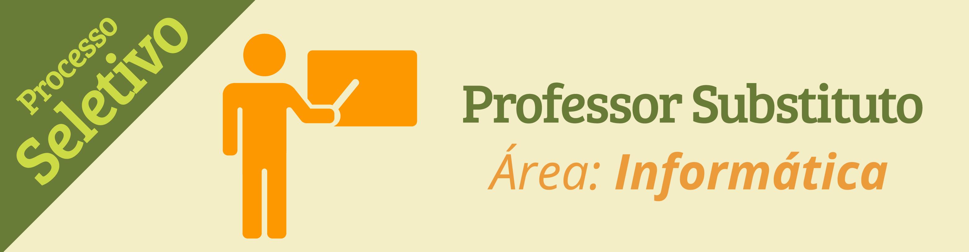 Campus Poços seleciona professor substituto na área de Informática. Inscrições até 31/01.