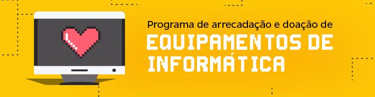 IFSULDEMINAS lança programa de arrecadação e doação de equipamentos de informática.