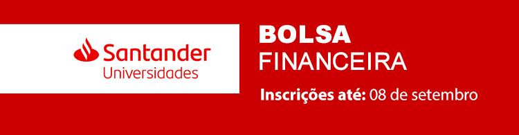 Alunos de Graduação e Pós-graduação poderão se inscrever, até dia 08/09, em programa de bolsas do banco Santander.