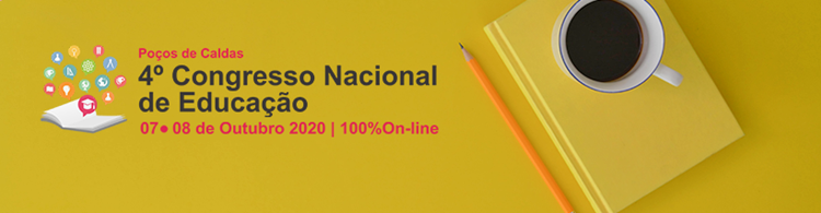 Abertas as inscrições e submissões de trabalhos para o 4º Congresso Nacional de Educação de Poços de Caldas.