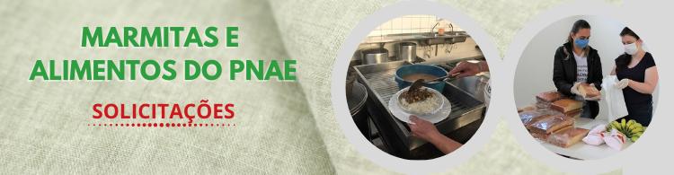 Alunos do Campus Poços podem solicitar entrega gratuita de marmitas e de alimentos do PNAE.